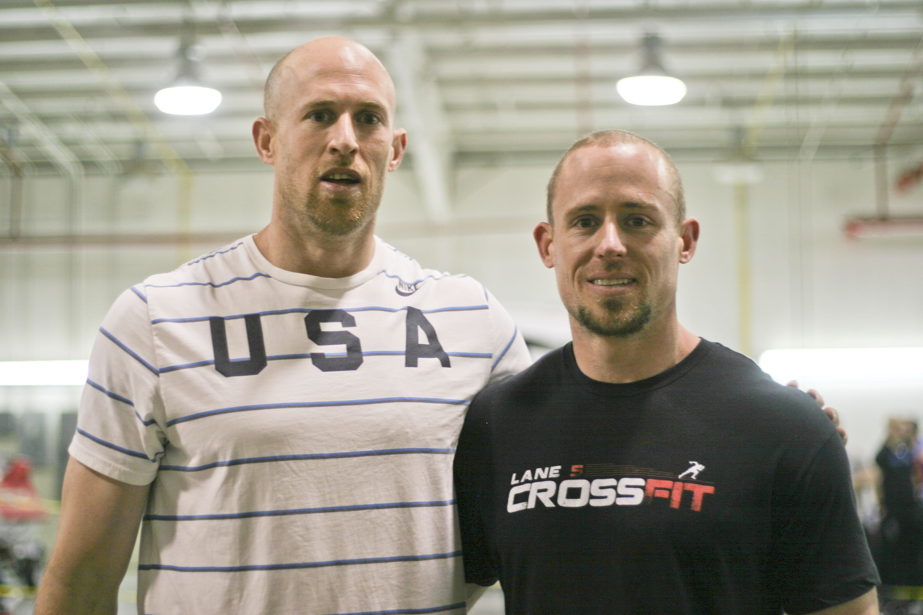 Tom and Billy at Lane 5 Crossfit