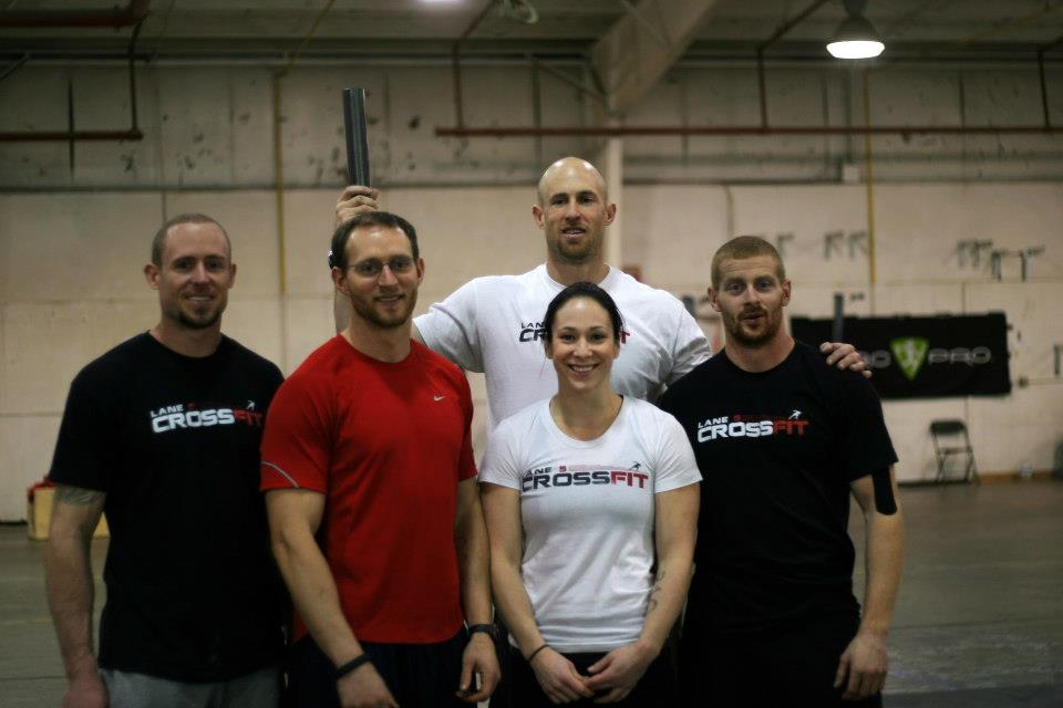 The team at Lane 5 Crossfit